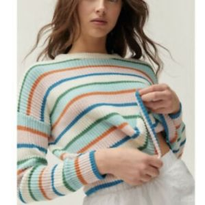 URBAN OUTFITTERS Striped SWEATER Multicolor